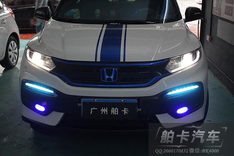 本田XRV大灯改装,选择海拉五透镜 欧司朗35W灯泡 45W安定器高清图片