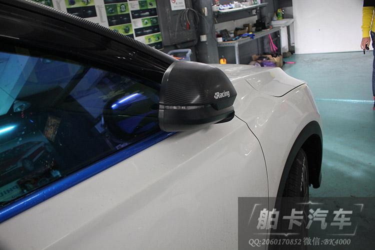 本田XRV改装后视镜自动折叠高清图片